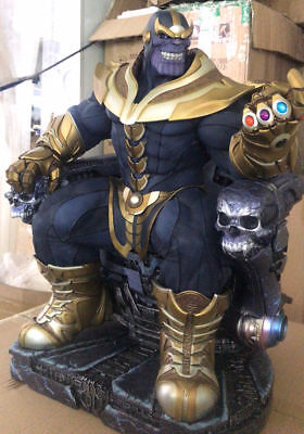 Pre Thanos on Throne Maquette 1/4 EX Only EX Smile Head April 2018 deliver