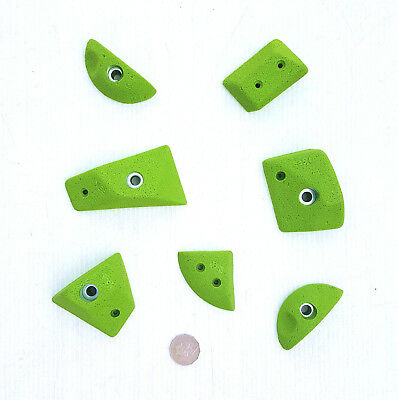 Rock Climbing Holds, New, 7 Holds. Made By X-Es Climbing Holds.