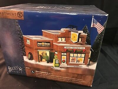 Dept 56 The Original Snow Village Buck's County Abner's Implement Co. #55052