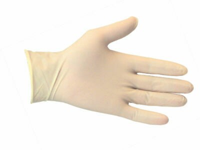 LATEX GLOVES Powdered or POWDER FREE 1 -1000 Box / Boxes or Case GREAT VALUE