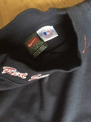 (New) Nike Red Sox Boys Baseball Age 12-14yrs 36in Navy Long Sleeved Top