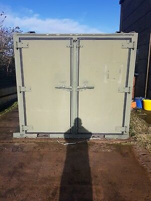 8ft x 8ft shipping container