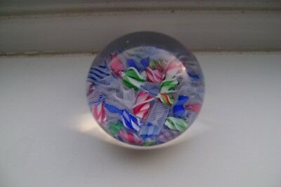 Small Baccarat?  Scrambled Paperweight