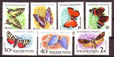 HUNGARY - 1959. Butterflies and Moths - MNH