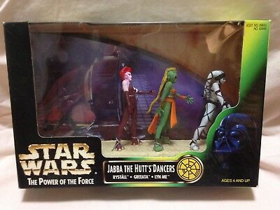 Jabba The Hutt Dancers POTF2 Cinema Scene Pack Star Wars Figures