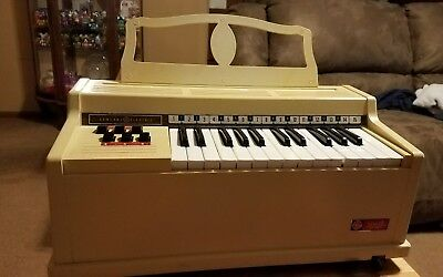 Vintage General Electric Youth Piano Organ Tested Working Music