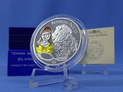 Frankreich 1 ½ Euro 2002,Blanche Neige ,Color,Silber **PP/Proof** (6520 )