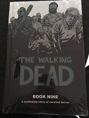 Walking Dead Book 9 (nine) HC a continuing story of survival horror.