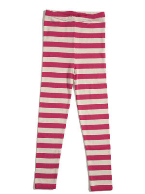 KATVIG Pink Striped Organic Cotton Baby Leggings 9m 80 BNWT NEW