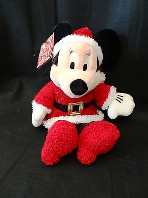 DISNEY STORE Exclusive HOLIDAY MINNIE MOUSE Santa Helpers Stuffed Animal