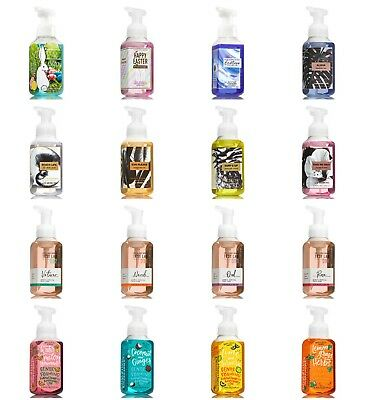 Bath and Body Works Gentle Foaming Hand Soap NEW FALL 2018 SCENTS