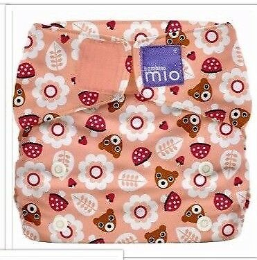 Bambino Mio Miosolo All-in-One Nappy One Size Teddy Bear Picnic Brand New