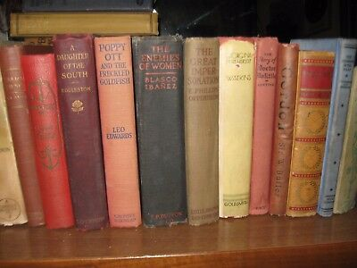 Lot of 10 antique collectible vintage old rare hard to find books - Mixed unsort