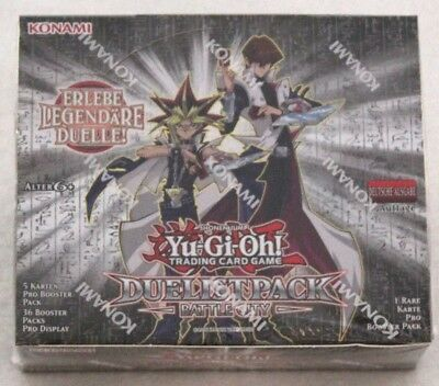 Yugioh 1 Display Duelist Pack Battle City 1Auflage  Deutsch  NEU/OVP