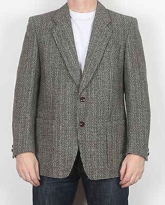 "Harris Tweed 42"" Medium Large Jacket Blazer Brown   (65H)"