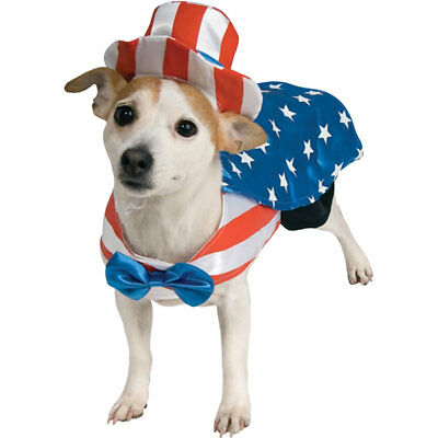 Rubies Costume Company Uncle Sam USA Dog Costume