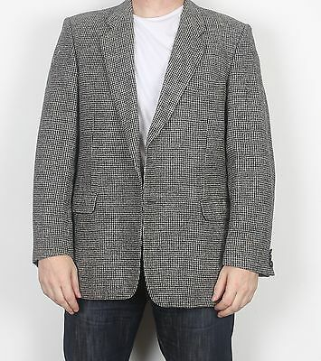 "Harris Tweed 44"" Jacket Blazer Grey Large XL (FDO)"