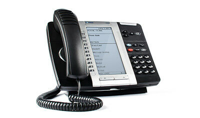 Mitel 5330 IP Phone Part # 50005804 Refurbished with new coiled cords! Mint!