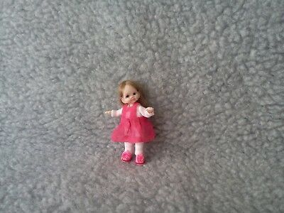 Miniature Handmade OOAK Sculpt Baby Girl for Doll House 1/12 Artist