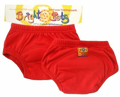 Bright Bots Washable Potty Training Pants (2pk, Red, Large, 24-30 months)
