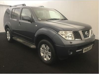 06 Nissan Pathfinder 2.5 Dci Adventura Dci Full Leather, Colour Sat Nav 7 Seats
