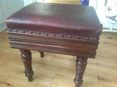 Piano Stool, rise and fall mechanism H BROOKES & Co