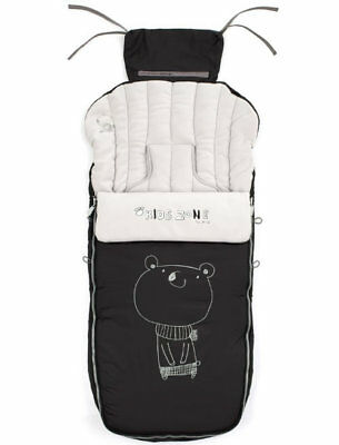 Brand new in bag Jane Nest plus universal 3 in 1 footmuff in Black R82