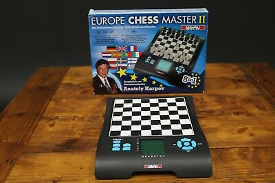 Millennium Europe Chess Master II  Electronic Chess Recommened by Anatoly Karpov