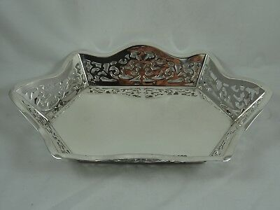 FINE, solid silver FRUIT DISH, 1933, 404gm