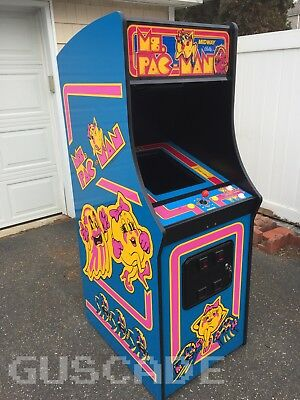 NEW MS PACMAN CLASSIC ARCADE GAME Ms. Pac-Man Multi Multicade Full Size Guscade