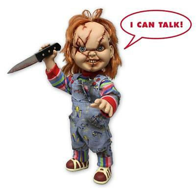 """Child's Play Chucky Puppe 15"""" Talking Mega Scale"""