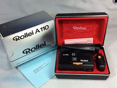 Rollei A110 With Flash Case Box