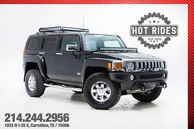 2007 Hummer H3 SUV With Upgrades 2007 Black Hummer H3 SUV With Upgrades! 4x4 4wd! Sunroof! MUST SEE!