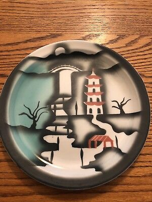 tepco china, confucius 9 Inch Plate