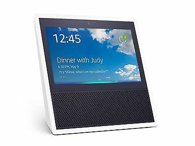Amazon Echo Show Alexa WiFi Smart Home Device w/ Video Screen Camera - White