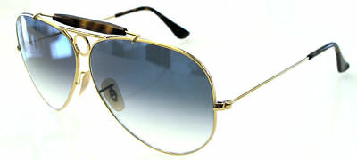Ray Ban 3138 62 Shooter Gold Havana Lens Blue Gradient Remix Personalizzato
