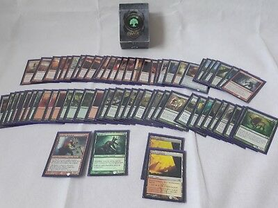 magic the gathering bundle 71 cards pre made deck with deck box
