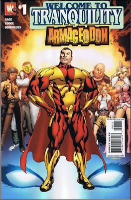 Armageddon storyline 2007 Complete wildstorm Crossover (6 One-Shot) NM- to NM/M