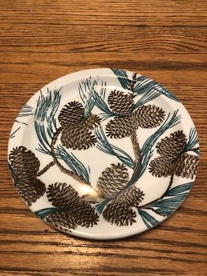 tepco china, 7 1/2 Inch Needles And Pines Plate