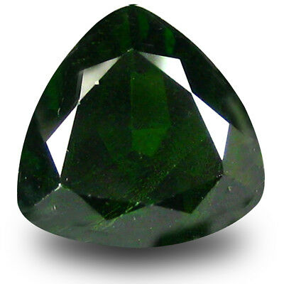 3.11 ct Grand looking Trillion (9 x 9 mm) Green Chrome Diopside Loose Gemstone