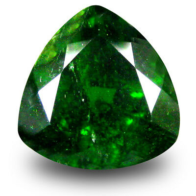 2.81 ct Lovely Trillion (9 x 9 mm) Green Chrome Diopside Natural Loose Gemstone