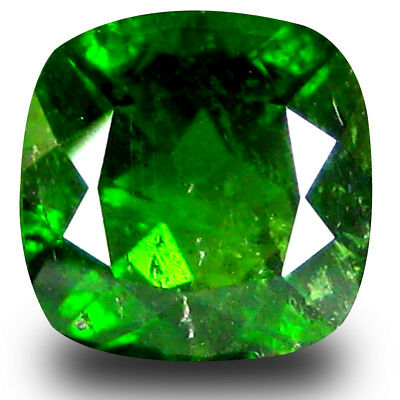 1.88 ct Terrific Cushion Shape (7 x 7 mm) Green Chrome Diopside Loose Gemstone
