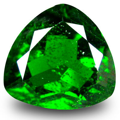 2.39 ct Marvelous Trillion Shape (9 x 9 mm) Green Chrome Diopside Loose Gemstone