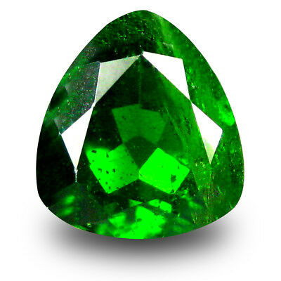 2.86 ct Topnotch Trillion Shape (9 x 9 mm) Green Chrome Diopside Loose Gemstone