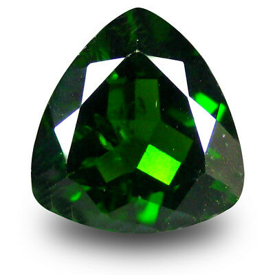 2.63 ct Pretty Trillion (9 x 9 mm) Green Chrome Diopside Natural Loose Gemstone