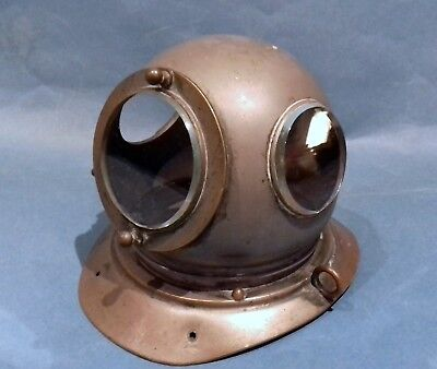 Old diving helmet novelty inkwell ink well nauticalia