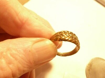 A 19Th Cent  Gold Ring