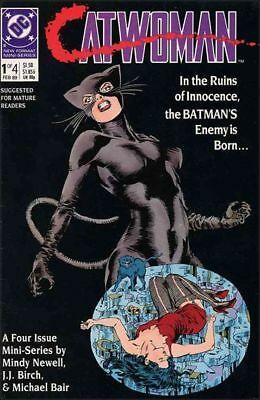 Catwoman (1989)    #1 to 4 Complete   NM to NM/M