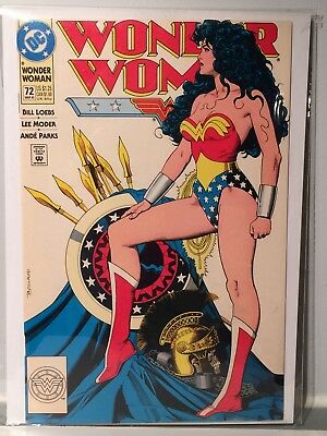 Wonder Woman #72 Statue Cover Brian Bolland Key Issue F/VF- 1993 Comic Book