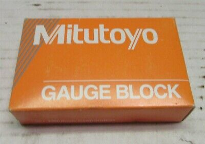 Mitutoyo Steel Rectangular Gage Block, ASME Grade 0, 1.19 mm Length (611579-531)